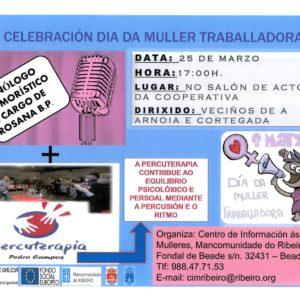 Celebración do Día da Muller traballadora