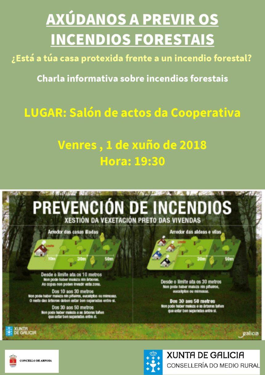 Charla sobre prevención de incendios forestales