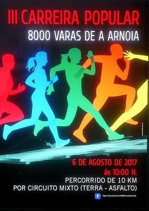Carrera popular 8000 varas de Arnoia