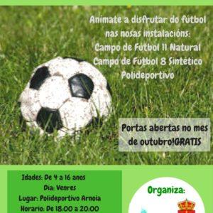 Escuela de fútbol mixta Concello de A Arnoia