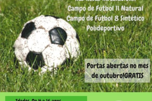 Escola de fútbol mixta Concello de A Arnoia