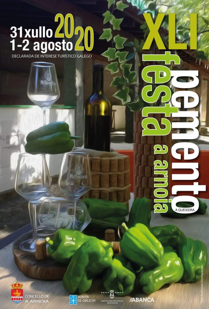 XLI Festa do pemento de Arnoia. 31 de xullo e 1 e 2 de agosto de 2020