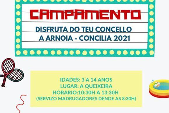 Campamento A Arnoia Concilia 2021